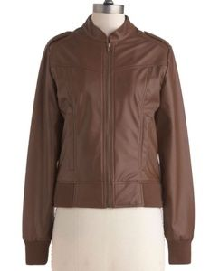 Vegan Leather Jacket from Modcloth
